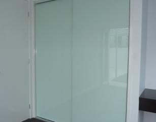 Mirrorline Doors with White Colourback